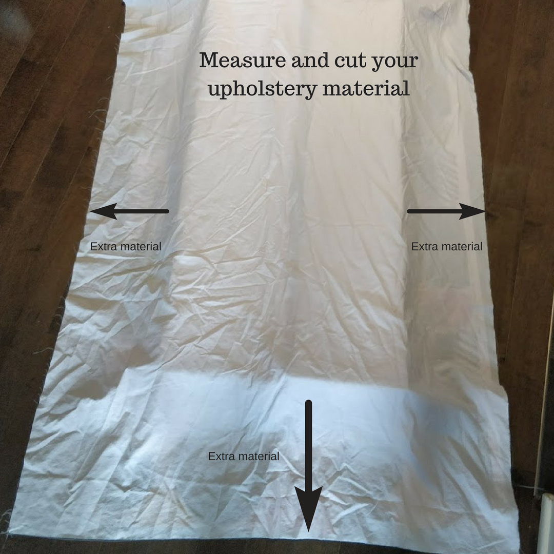 measure cut upholstery for banquette kallax