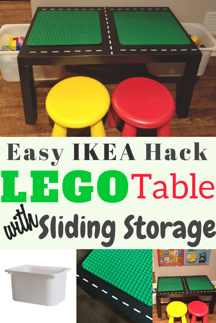 Ikea DIY Lego Table