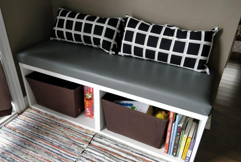 ikea besta hack small seating bench