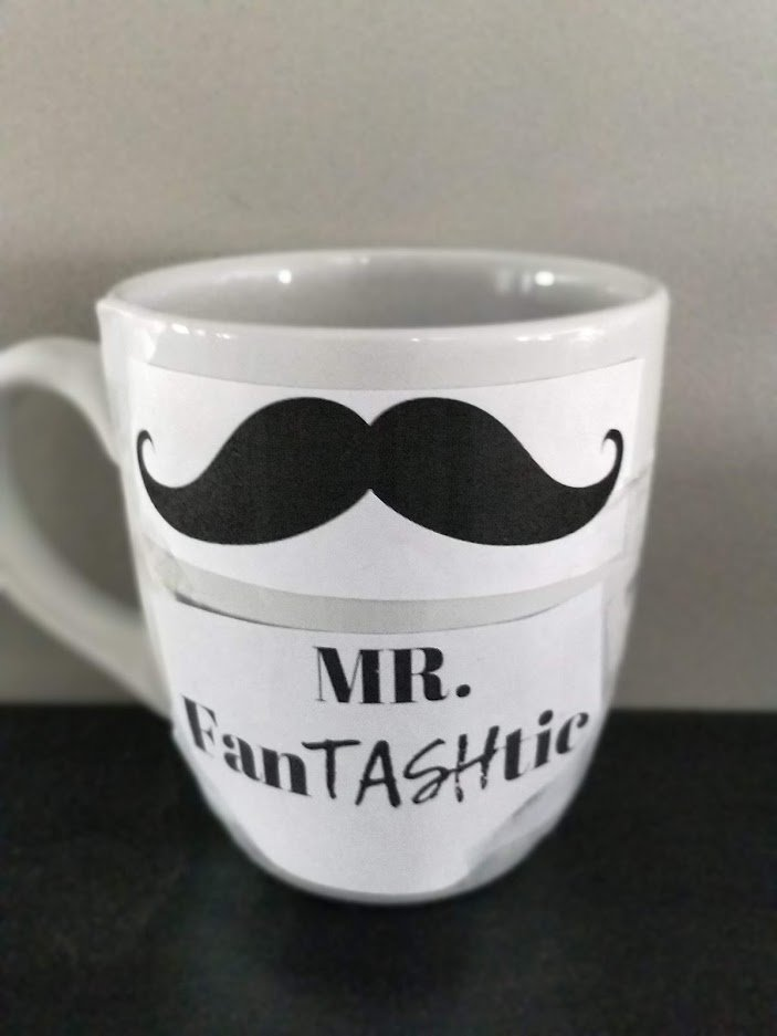 DIY Sharpie Mug Man gift