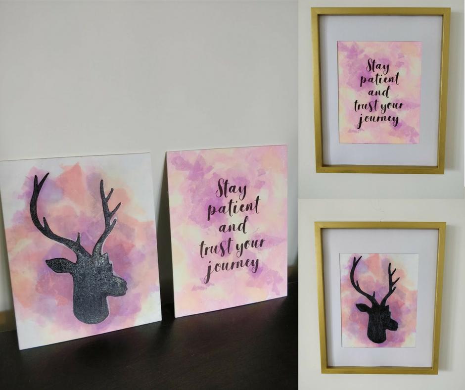 Tissue Paper Bleeding Art with Sharpie Facebook Post