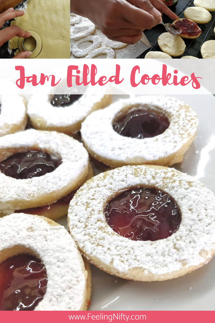 Easy Tea Party Jam Filled Cookies with Recipe Tutorial(1)