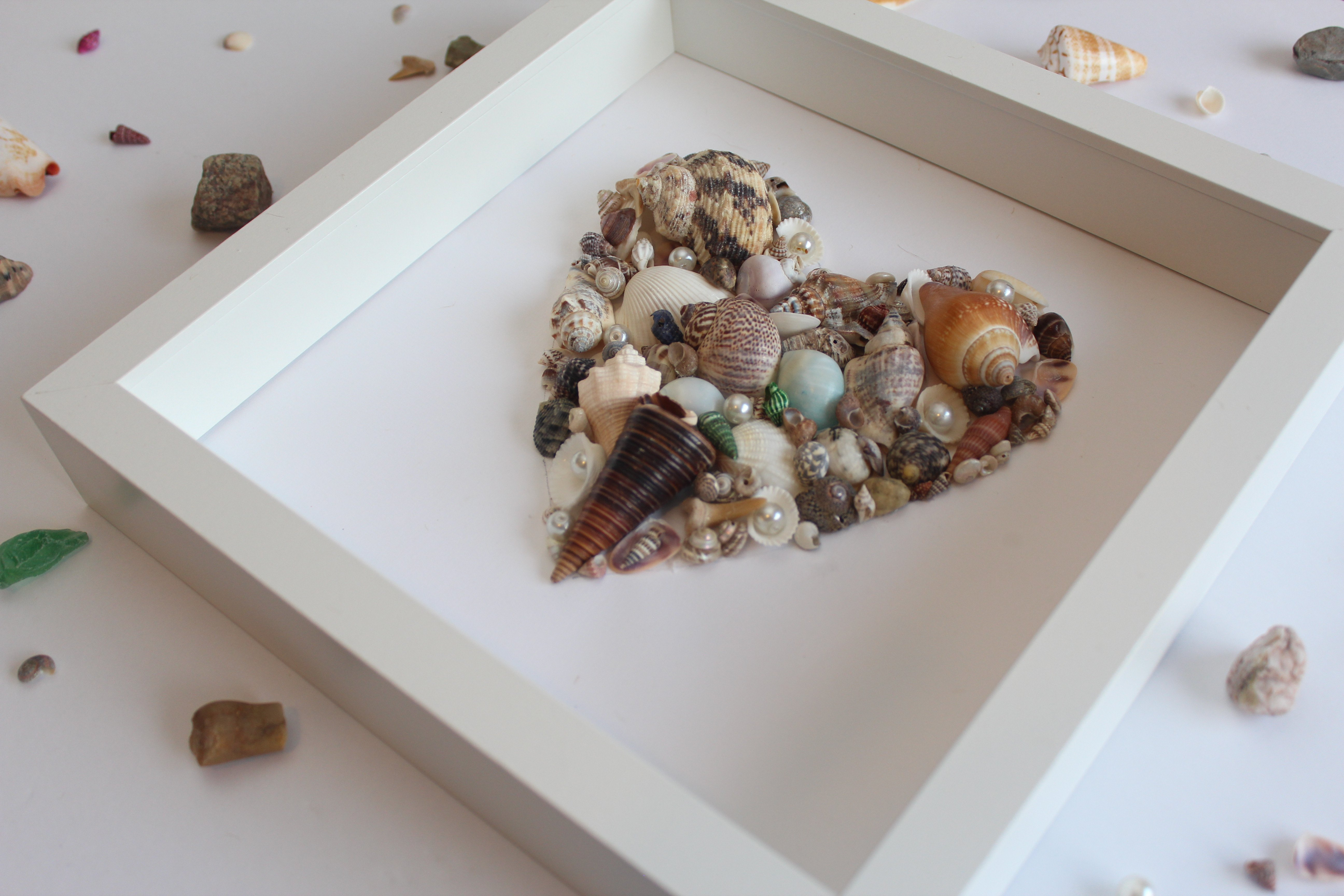 seashell artwork diy