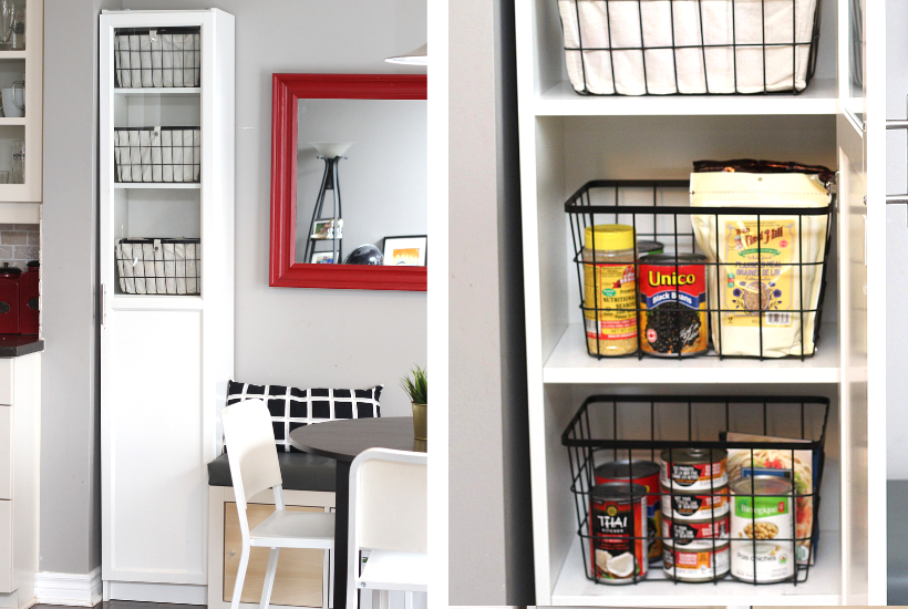 The Easiest Diy Kitchen Pantry Cabinet With The Ikea Billy Bookcase Hack