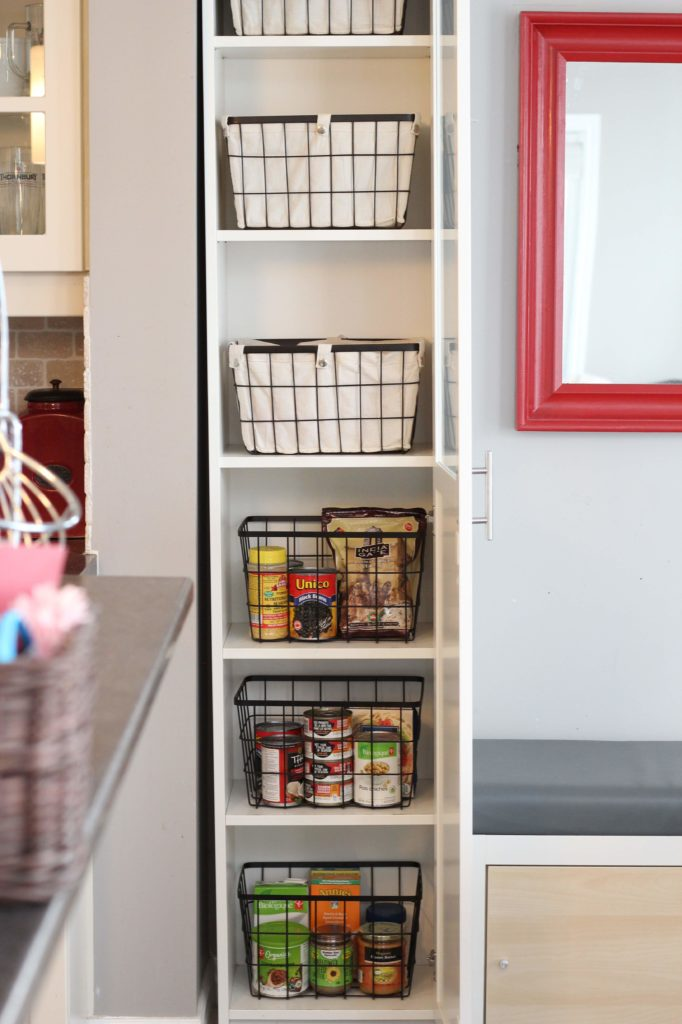 ikea kitchen pantry shelves