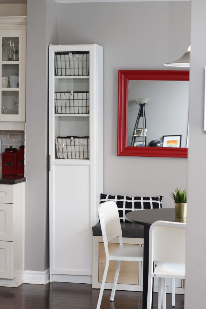 kitchen pantry ikea Billy bookcase hack