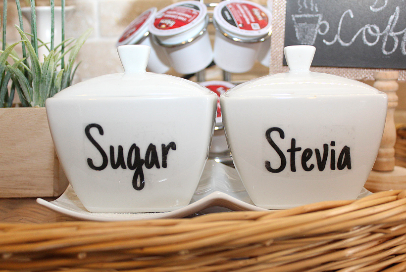 diy clear labels for jars