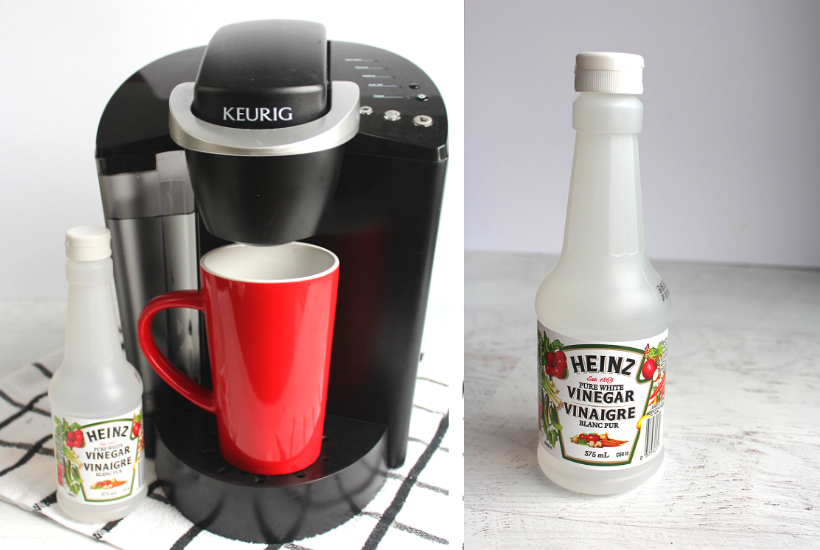how to descale a keurig with vinegar