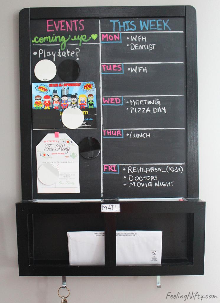 wall organizer kitchen command center(2)