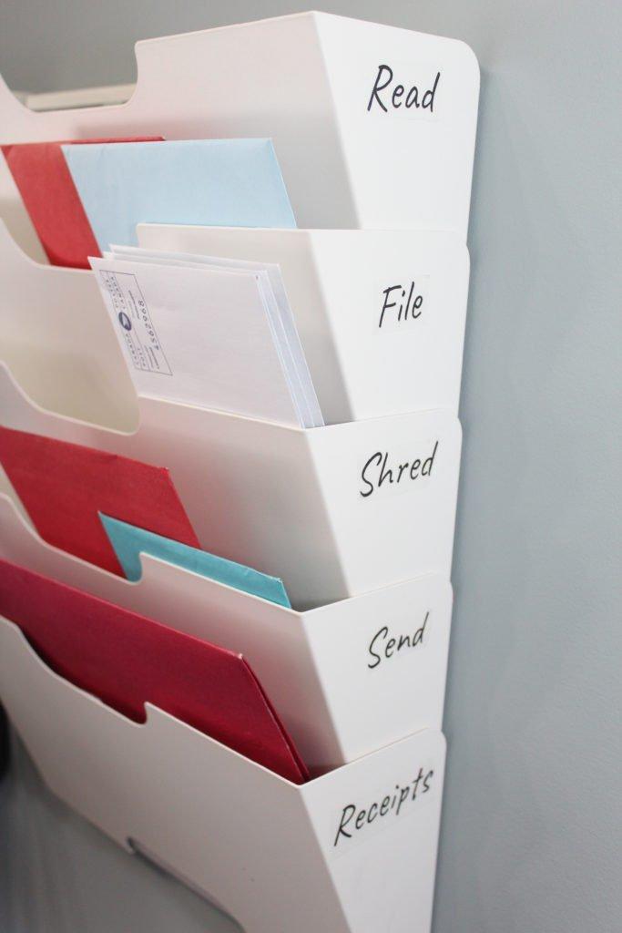 Ikea Wall File Organizer
