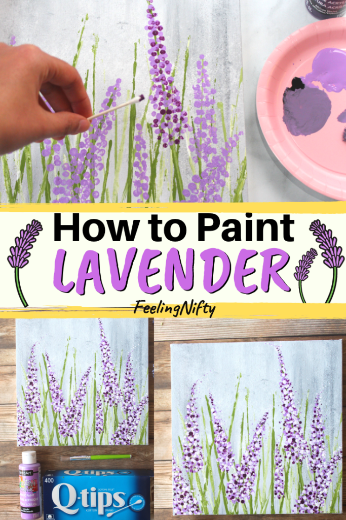 Want To Learn How To Paint Lavender The Easy Way How To Paint Series