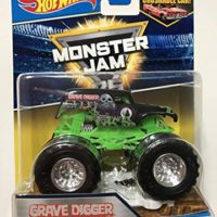 Hot Wheels Monster Jam 2017 25th Anniversary Grave Digger (Includes Re-Crushable Car) 1:64 Scale
