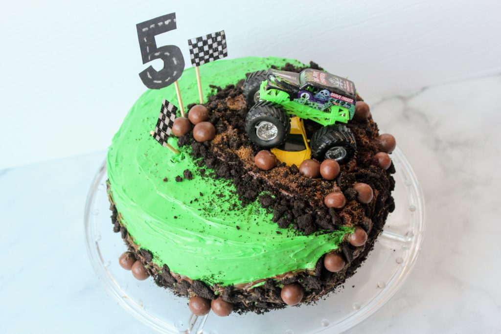 Fabulous How To Make A Monster Truck Cake The Easiest Cake Youll Ever Make Funny Birthday Cards Online Alyptdamsfinfo