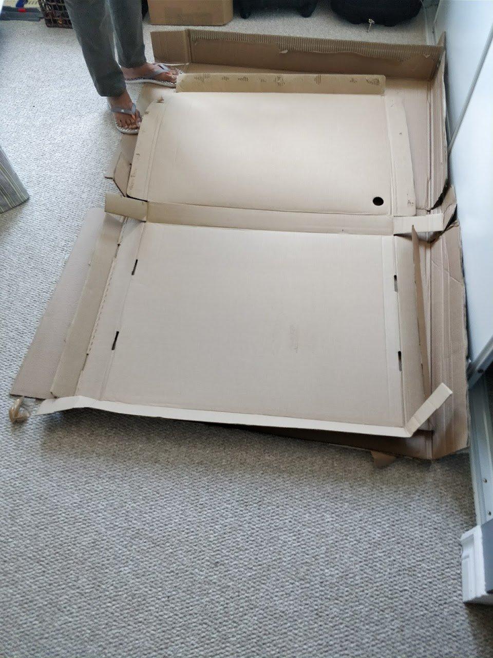 diy headboard foam board