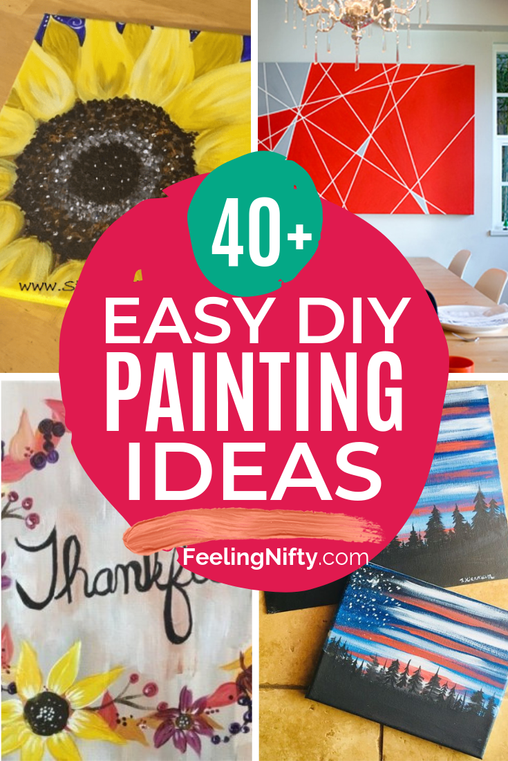 53 Easy Acrylic Painting Ideas For Beginners Who Want To Be Inspired