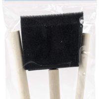 ROYAL BRUSH RFOMW-3P Foam Brush, 3-Pack