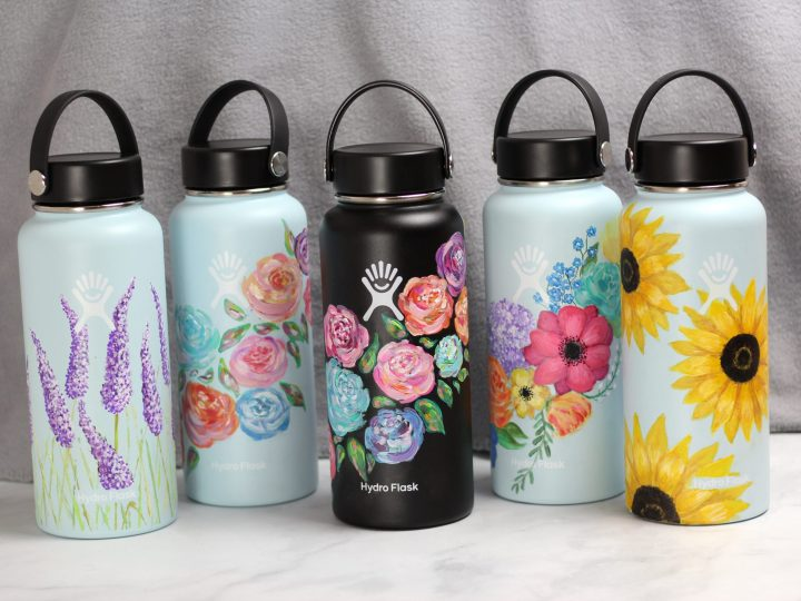 Ultimate Guide How To Paint Your Hydro Flask With 5 Easy Diy Ideas