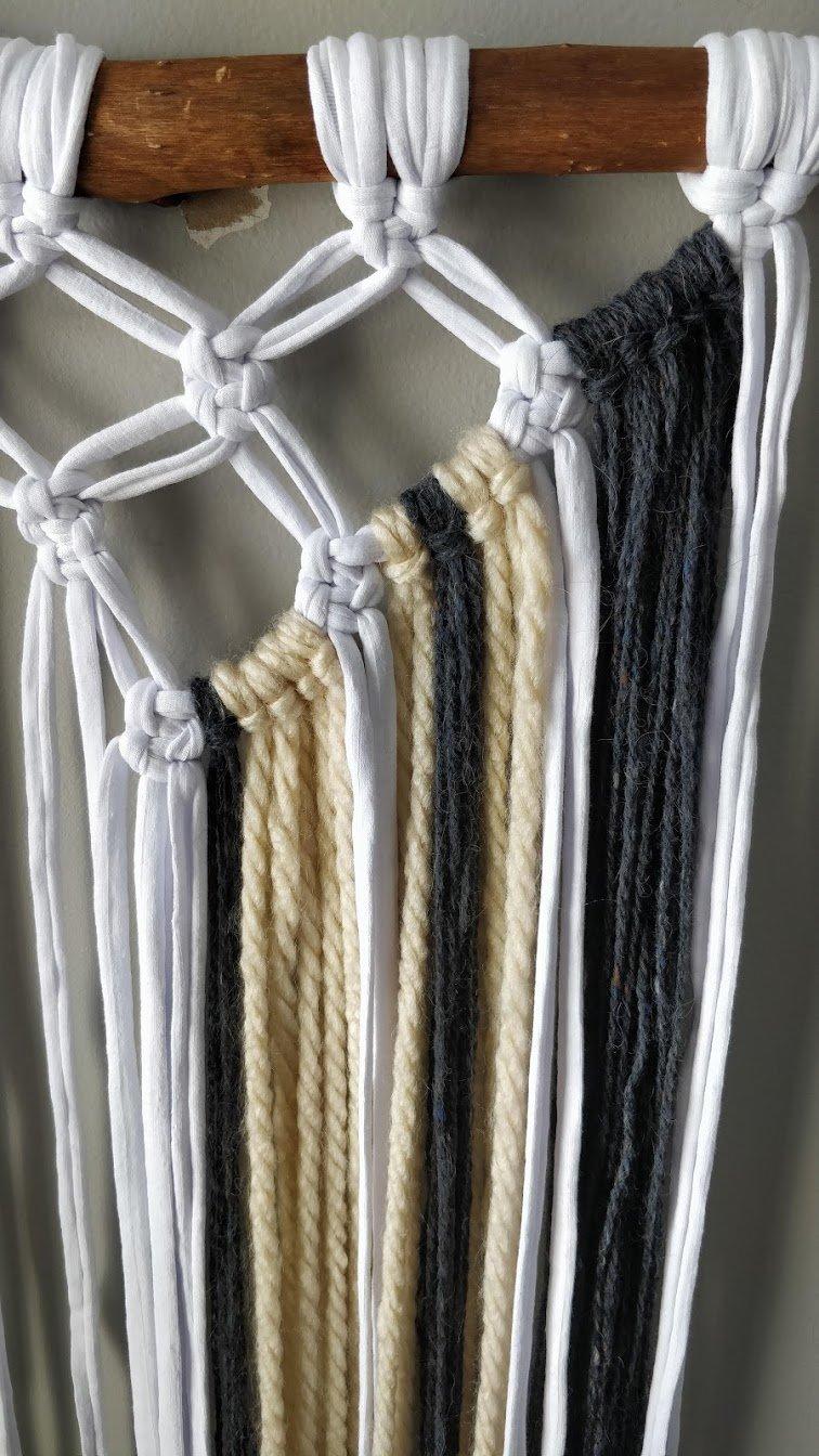 macrame wall hanging yarn 2