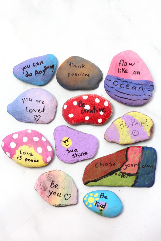 Kindness Rock Painting 101 Ultimate How To Guide With 15 Ideas Feeling Nifty