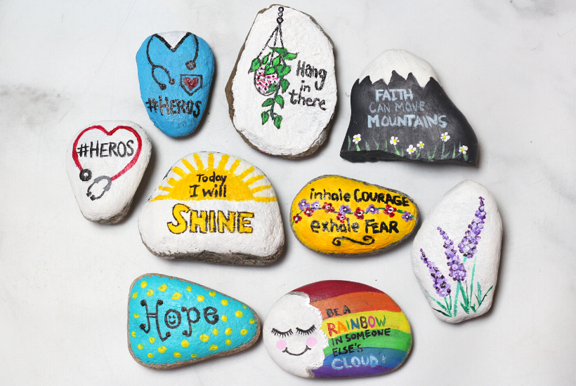 how to paint rocks and ideas