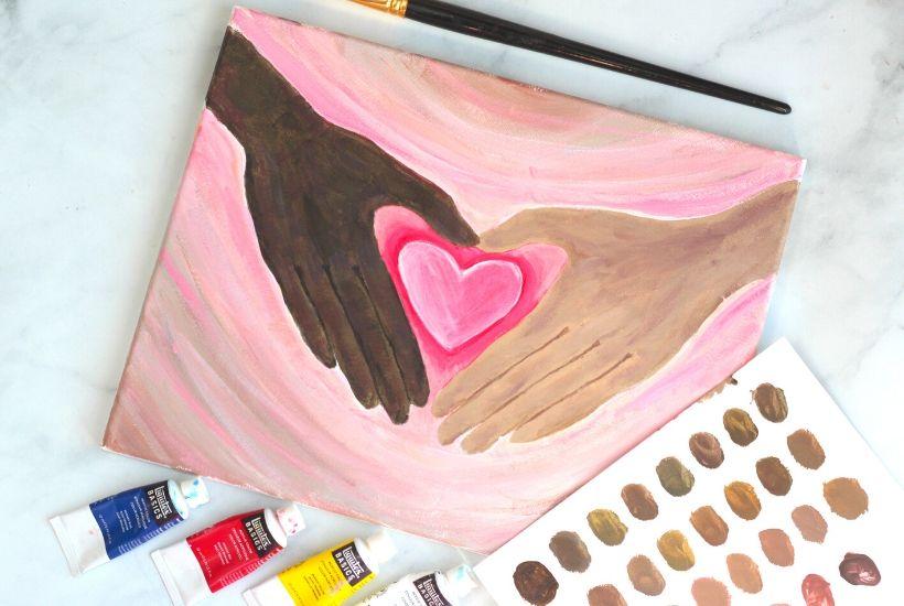 diversity activity painting antiracism