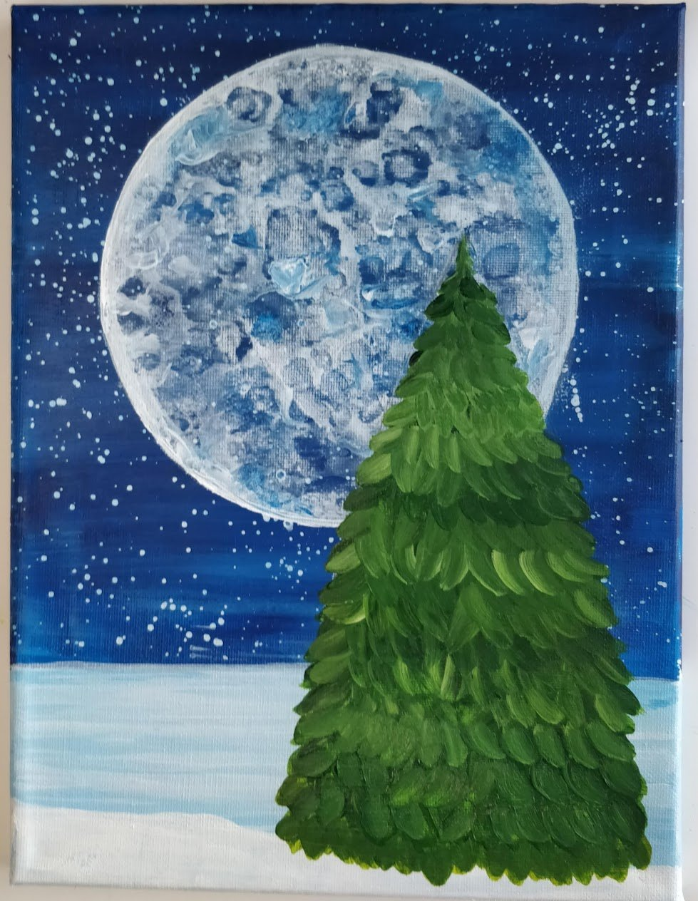 how-to-paint-a-christmas-tree-on-canvas-acrylics