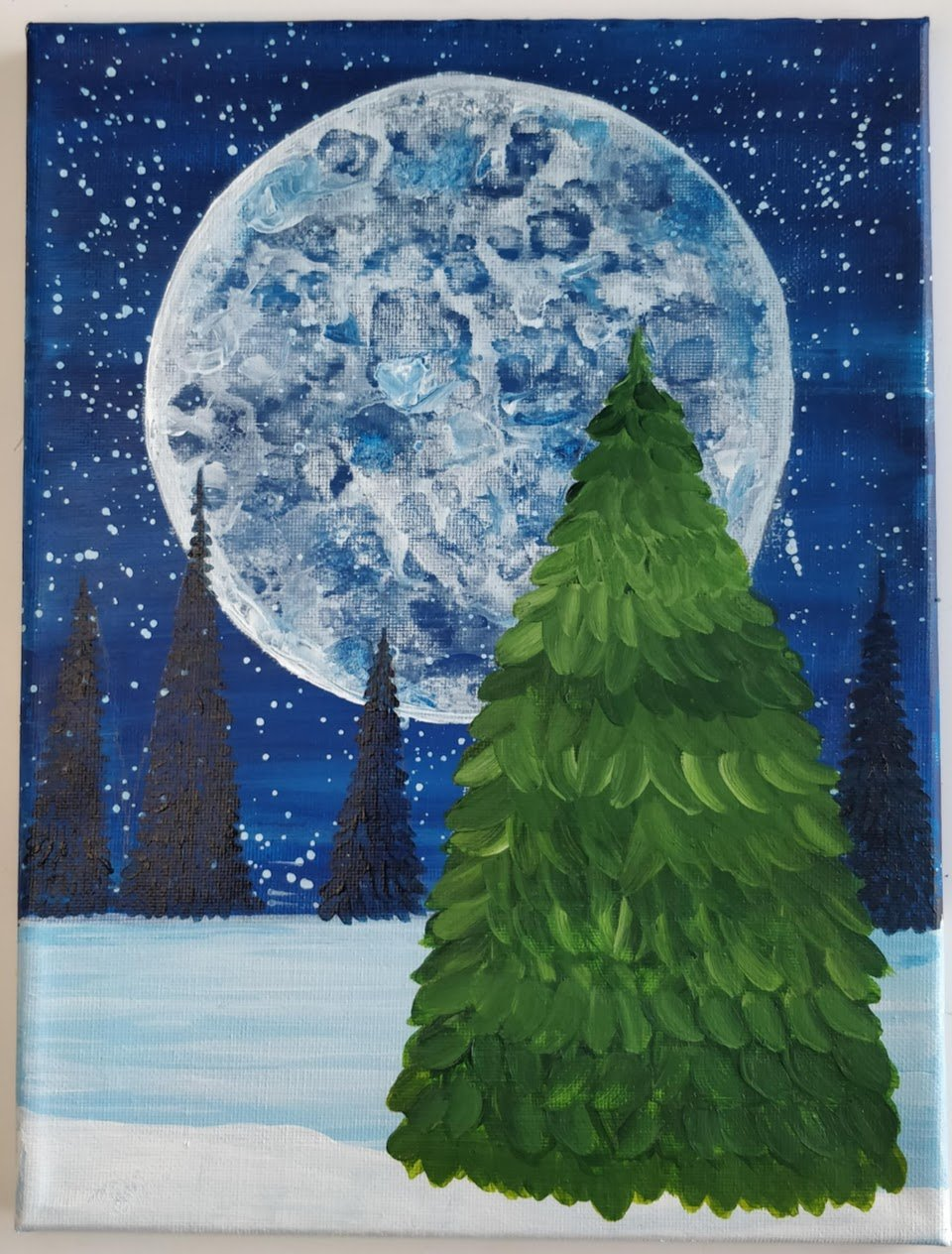 how-to-paint-trees-in-background-
