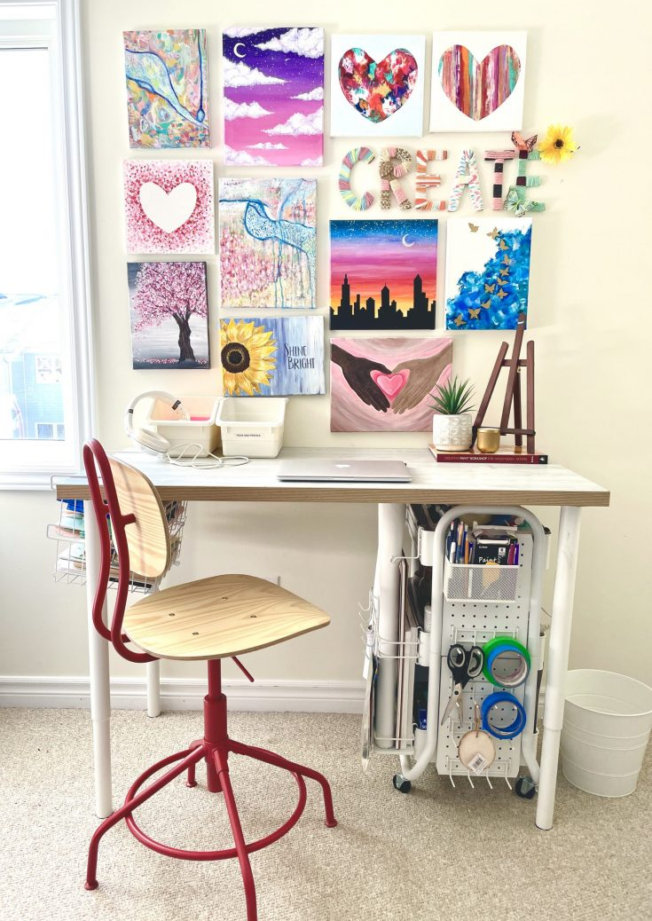 Ikea-craft-table-hack-counter-height-adjustable