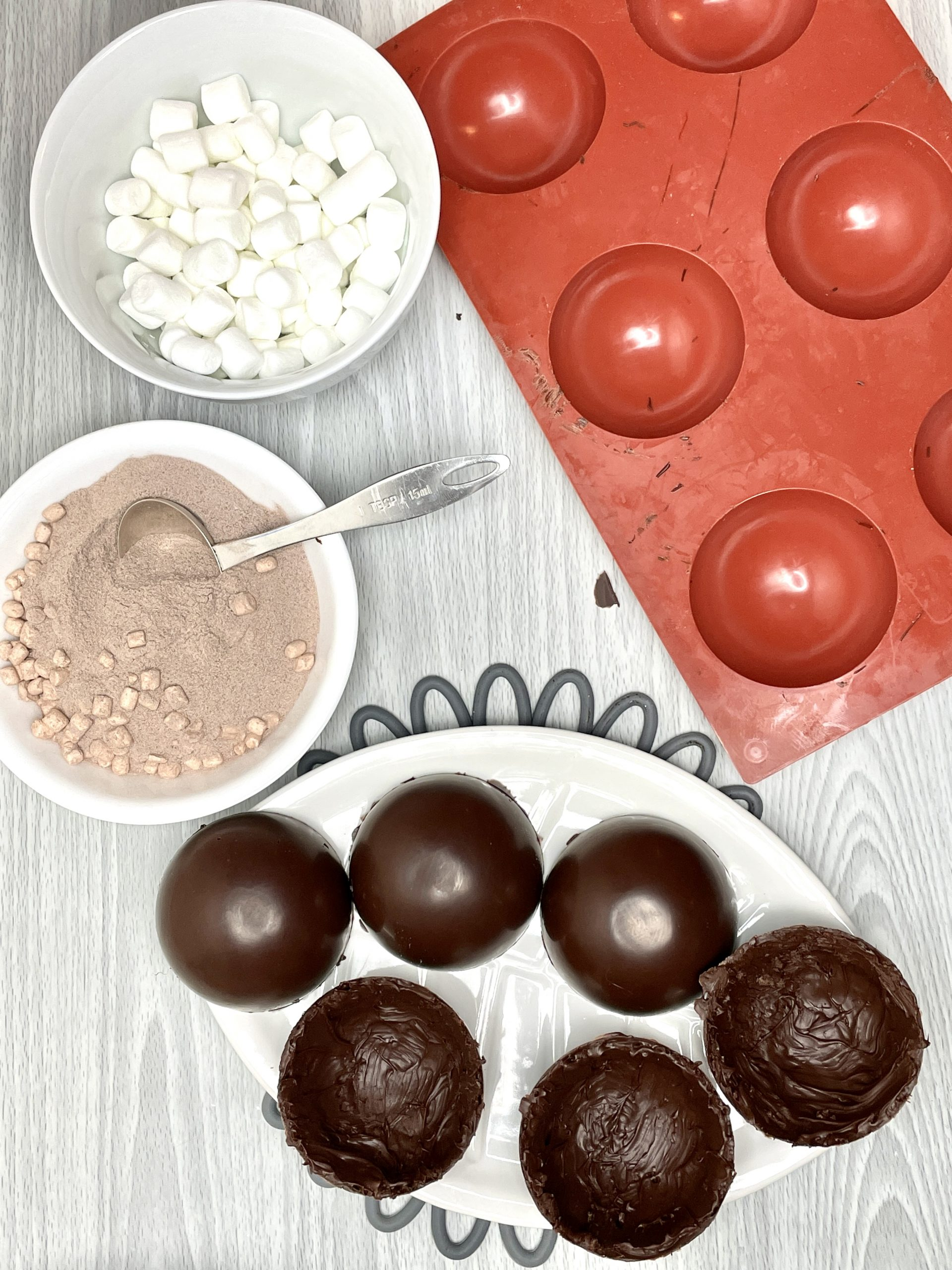 hot chocolate bombs filling