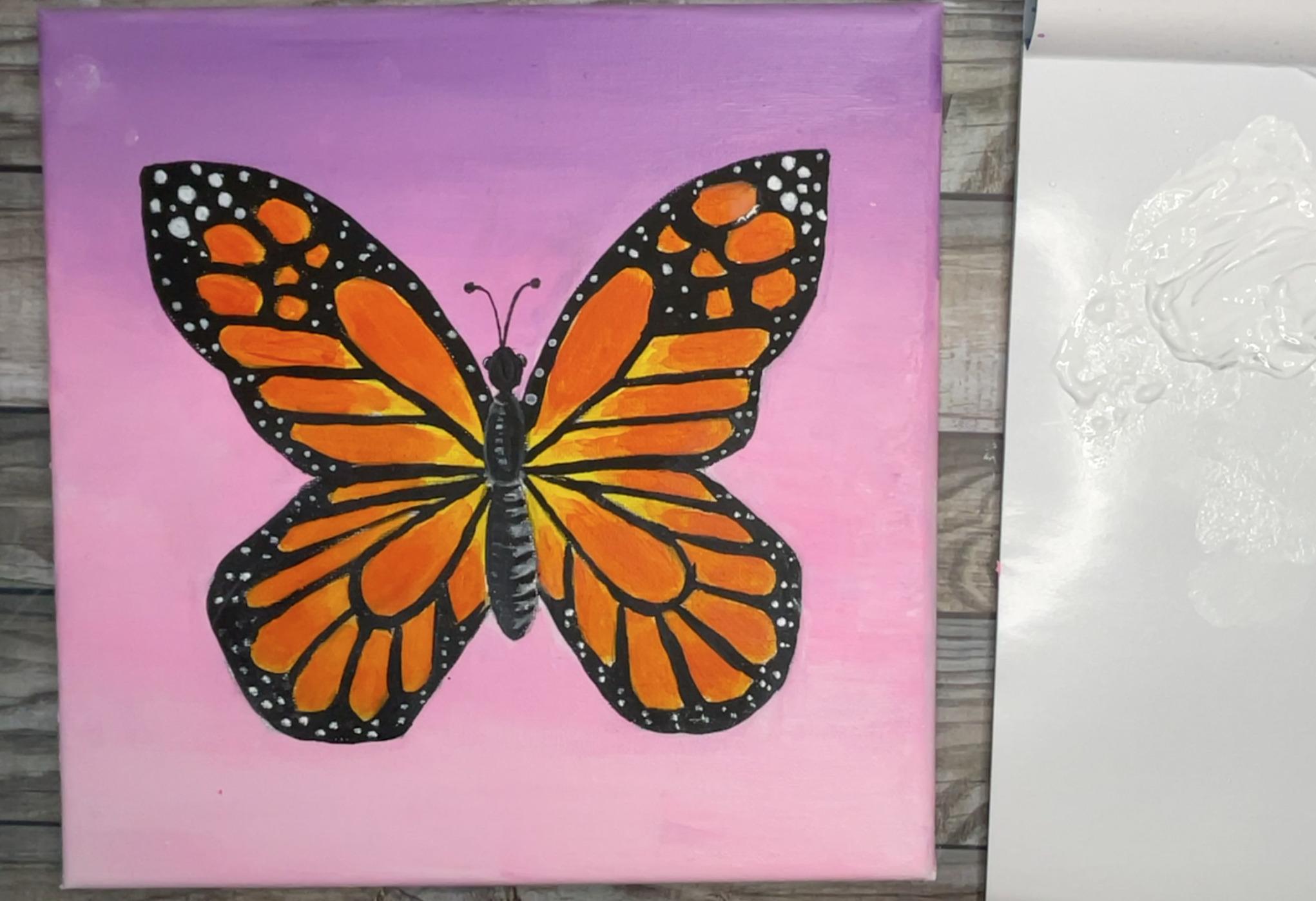 painting-butterflies